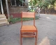 Chair made of Mukau wood in natural color