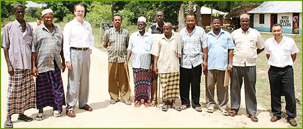 Committee members of Witu-Nyangoro Ranch