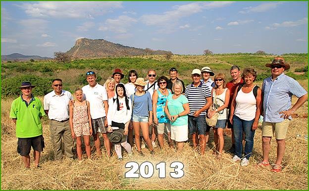 Customer trip 2013